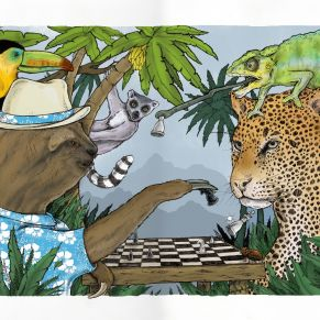 Jungle Print colour