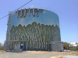 Sunshine Coast watertower for Unity Water and Jugglers art space